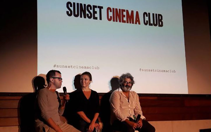 Sunset Screenings Q&A With Directors and Actors.